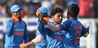 India. Sri Lanka, cricket, Kuldeep Yadav, Yuzvendra Chahal, Shikhar Dhawan, Rohit Sharma, Shreyas Iyer, Angelo Mathews, Thisara Perera, Akila Dananjaya