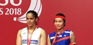 Saina falls at last hurdle, Tai Tzu beats her to claim Indonesia Masters