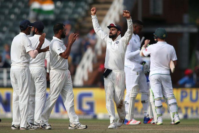 India, South Africa, Test, Freedom Series, Mohammad Shami, Bhuvaneshwar Kumar, Jasprit Bumrah, Hashim Amla, Dean Elgar