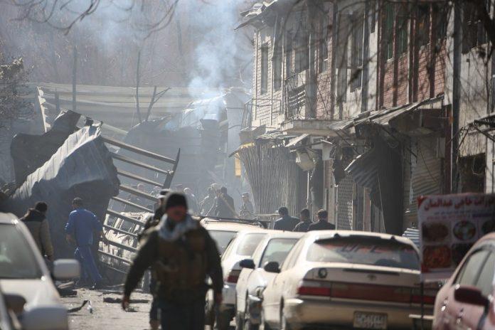 Taliban, car, ambulance, bomb, attack, terror, Kabul, Afghanistan, Waheed Majrouh