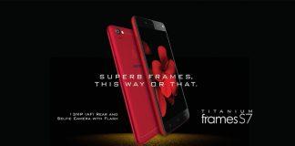Karbonn launches 13MP-selfie camera phone Titanium Frames S7
