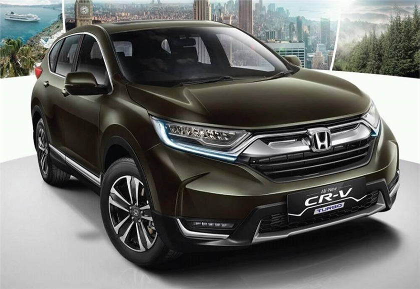 Auto Expo 2018: new-gen Honda CR-V launched and will hit ...