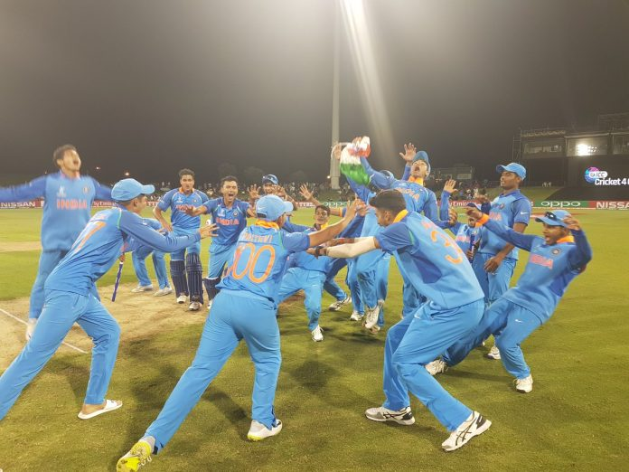 India Under-19 cricket team, Bay Oval ground, Men in Blue, Manjot Kalra, Prithvi Shaw-led side, Shubman Gill, Jonathan Merlo, Prithvi Shaw, Mohammad Kaif, Rahul Dravid, The Wall, Virat Kohli, Unmukt Chand