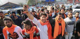 VHP, Bajrang Dal, Members, Protest, Valentine's Day, NewsMobile, Mobile News India, CityScape