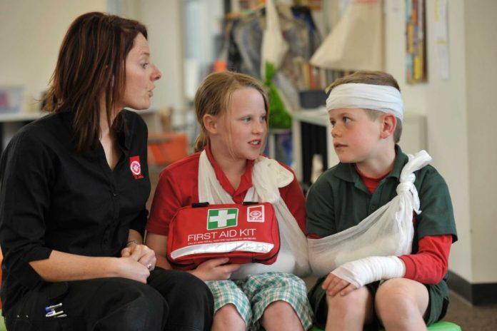 emergencies, first aid kit, doctor, medical emergency, children, school,