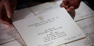 Prince Harry, Meghan Markle, wedding, invitation card, NewsMobile, Mobile News, India