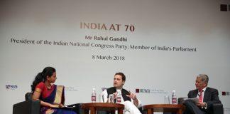 Rahul Gandhi, Conference, Singapore, NewsMobile, World,Mobile News, India