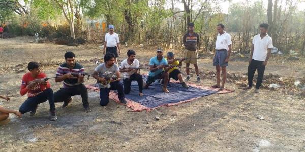 Bajrang Dal, arms training, Rajgarh, Bhopal, Madhya Pradesh, MP, armed Bajrang Dal, BJP, Congress, Secret arms Camp, love jihad, anti-national,