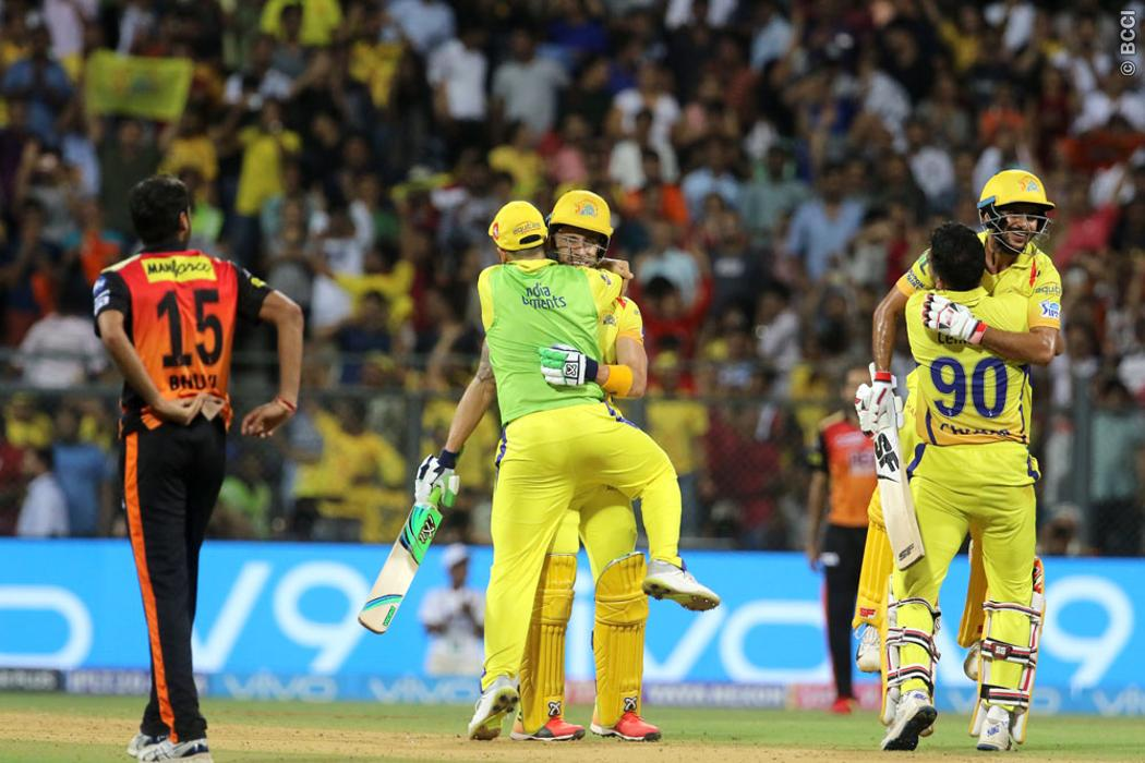 IPL Playoff, CSK, beat, SRH, Qualifier 1, book, record, 7th Final appearance, Final, NewsMobile, Mobile News, India