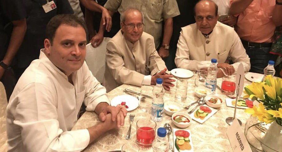 Rahul Gandhi, Iftar, Party, Ramadan, Former President, Pranab Mukherjee, Manmohan Singh, Hamid Ansari, Taj Palace, Congress, Sonia Gandhi, NewsMobile, Mobile News, India