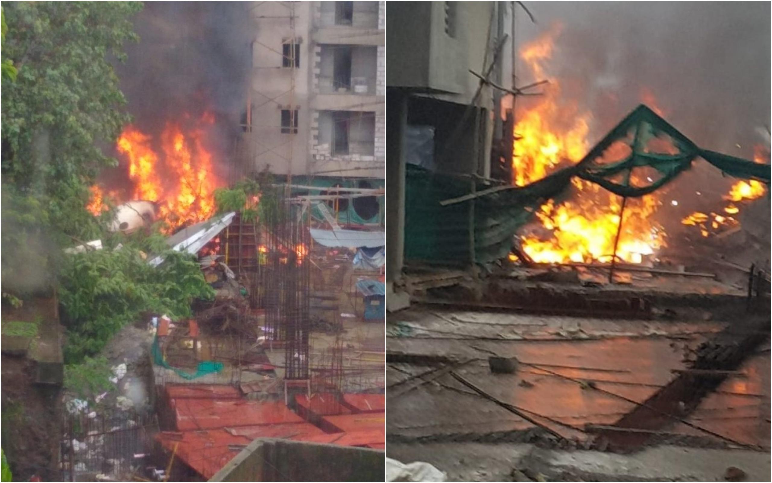 BREAKING News, UP Government, chartered plane, crash, Mumbai, Ghatkopar, NewsMobile, Mobile news, India
