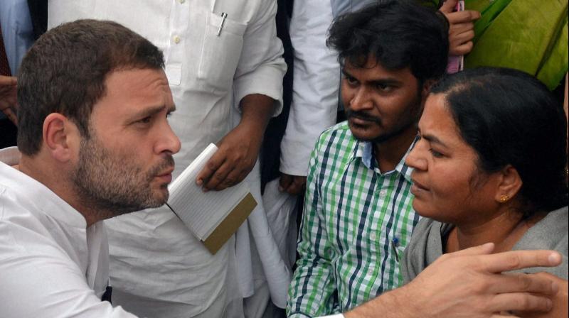BJP, slams, Rahul Gandhi, accuse, opposition, Rohith Vemula, Congress, NewsMobile, Mobile News, India