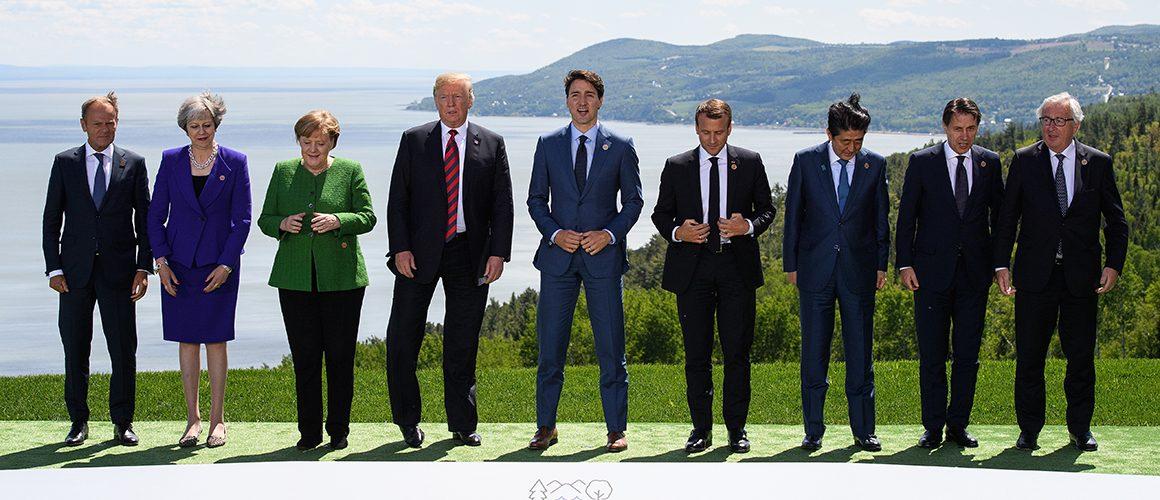 United States, US President, Canada, La Malbaie, trade war, Justin Trudeau, tariff imposition, trade war, aluminum tariff, Mexico, European Union, EU, trade surplus,German Chancellor Angela Merkel,French President Emmanuel Macron,Canadian Prime Minister Justin Trudeau, trade barriers,