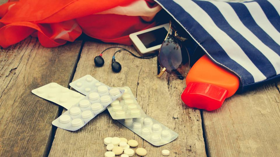 You should avoid carrying medicines while travelling