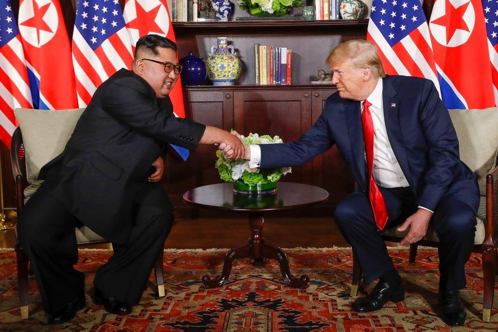 North Korea, urge, US, sign, end-of-war, declaration, NewsMobile, United States, President, Donald Trump, Kim Jong Un, Mobile News, India