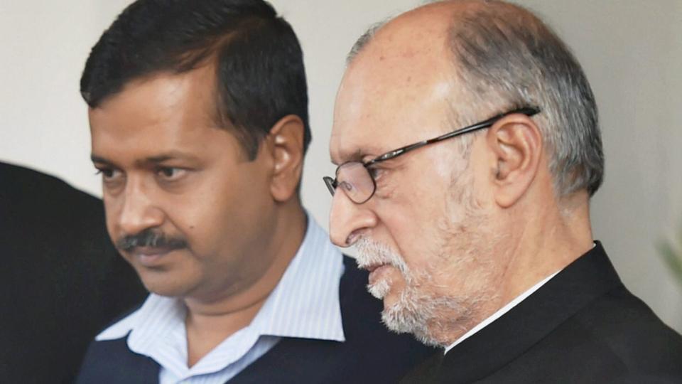 Arvind Kejriwal, Anil Baijal, LG, Delhi, Government, Chief Minister, NewsMobile, mobile news, Politics