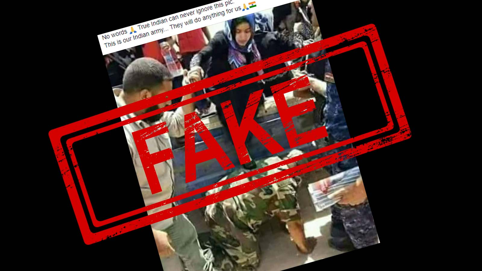 Indian Army, viral picture, believe, FAKE, claims, NewsMobile, Mobile News, India, Fact Checker, Fact Check, Fake News