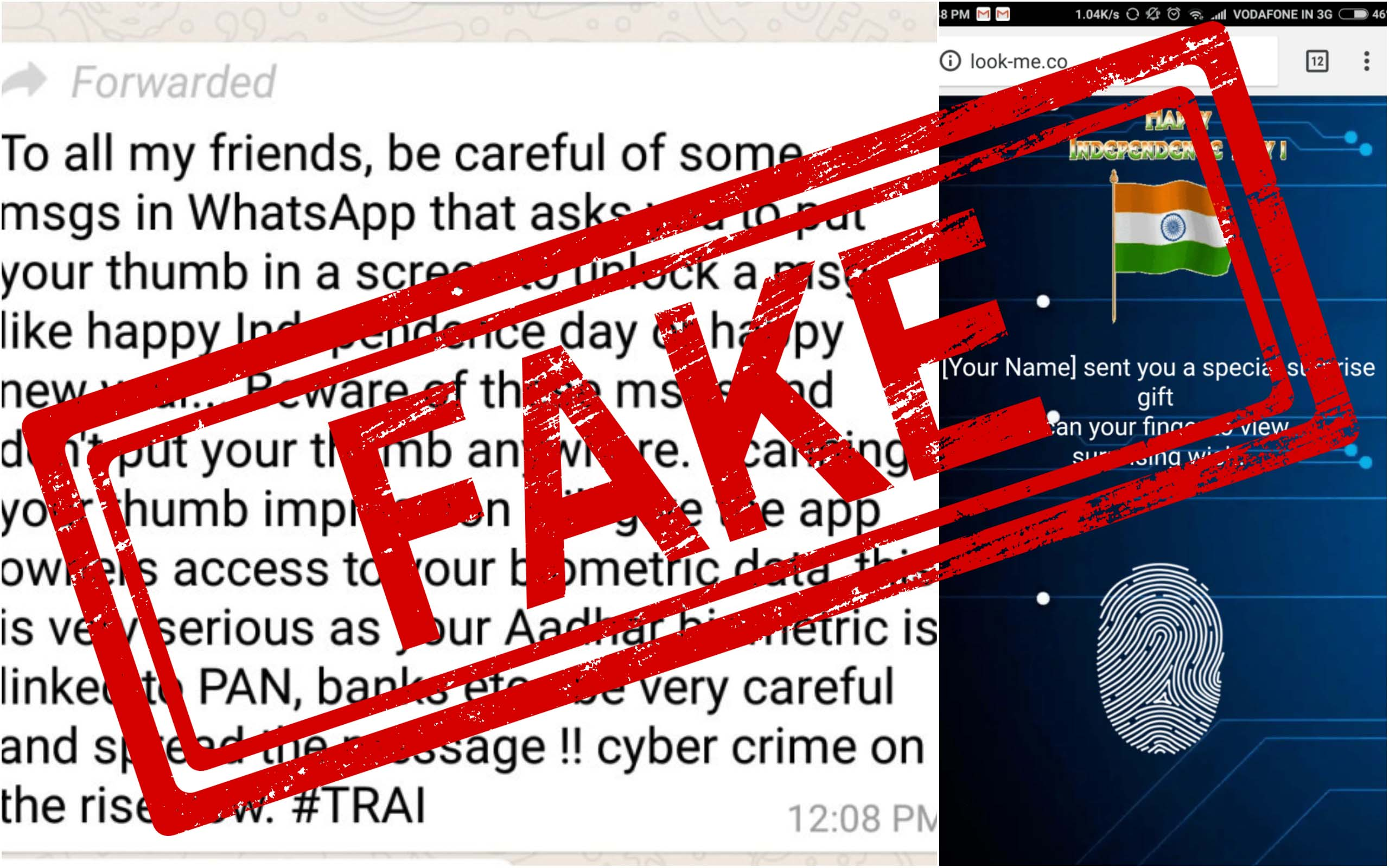 Independence Day, Forward, WhatsApp, Fake, Fake News, Fact Checker, NewsMobile, Mobile News, India