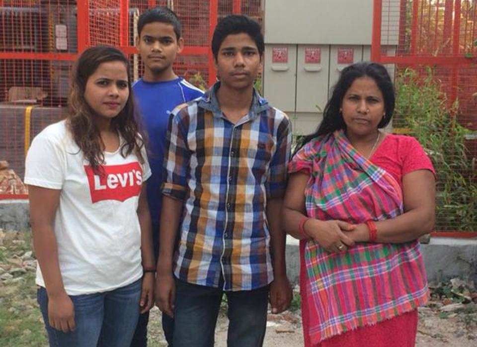 A Delhi boy reunited with family after 9 years in Gurugram