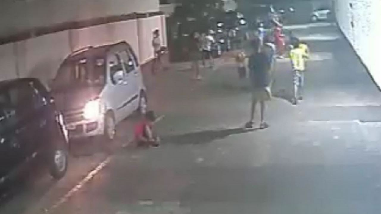 Need a solution to park inside buildings; says dad of boy who was run over