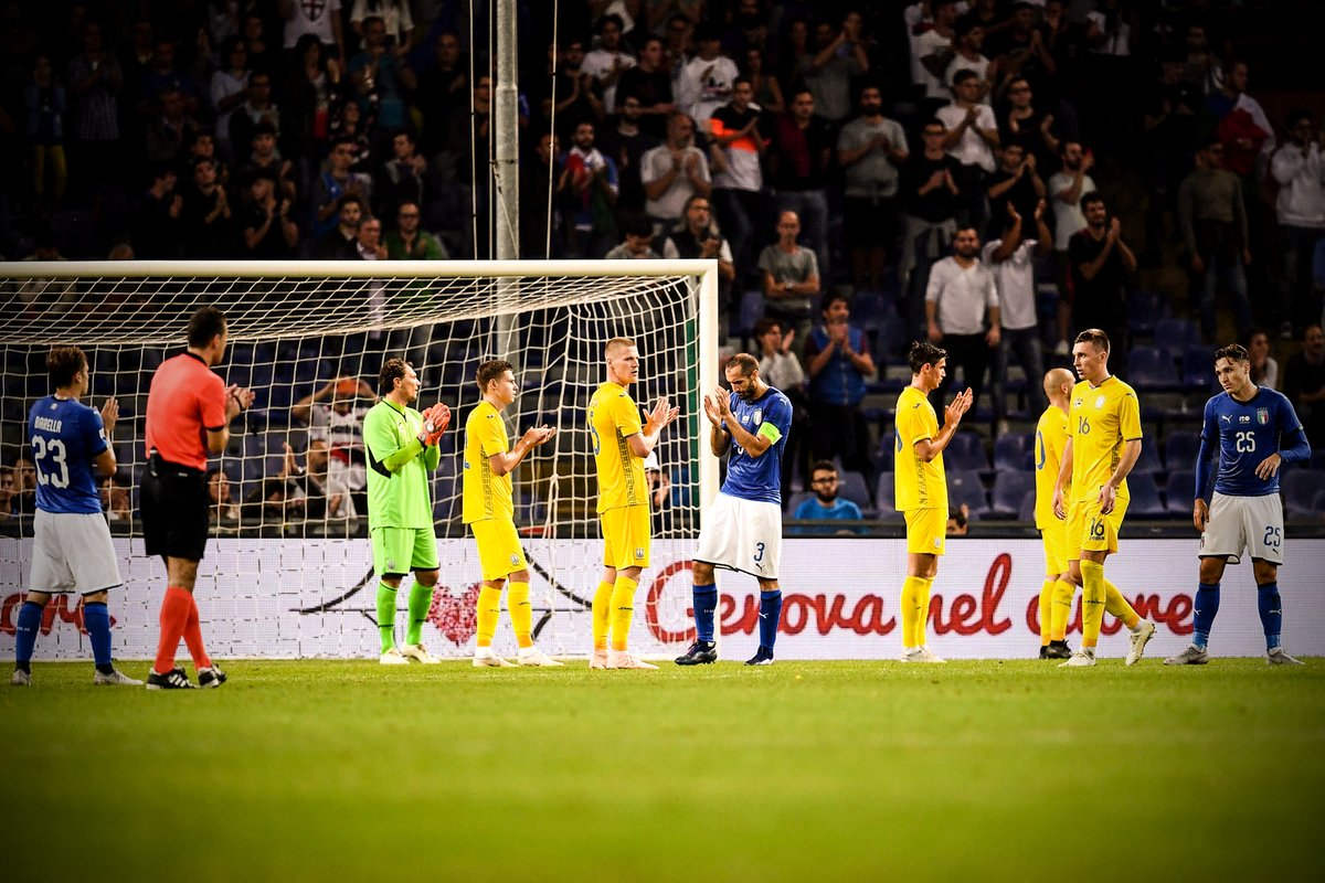 Italy, Ukraine, football, game, stopped, 43rd minute, memory, 43 victims, Bridge collapse, Genoa, Sports, newsMobile, Mobile news, India