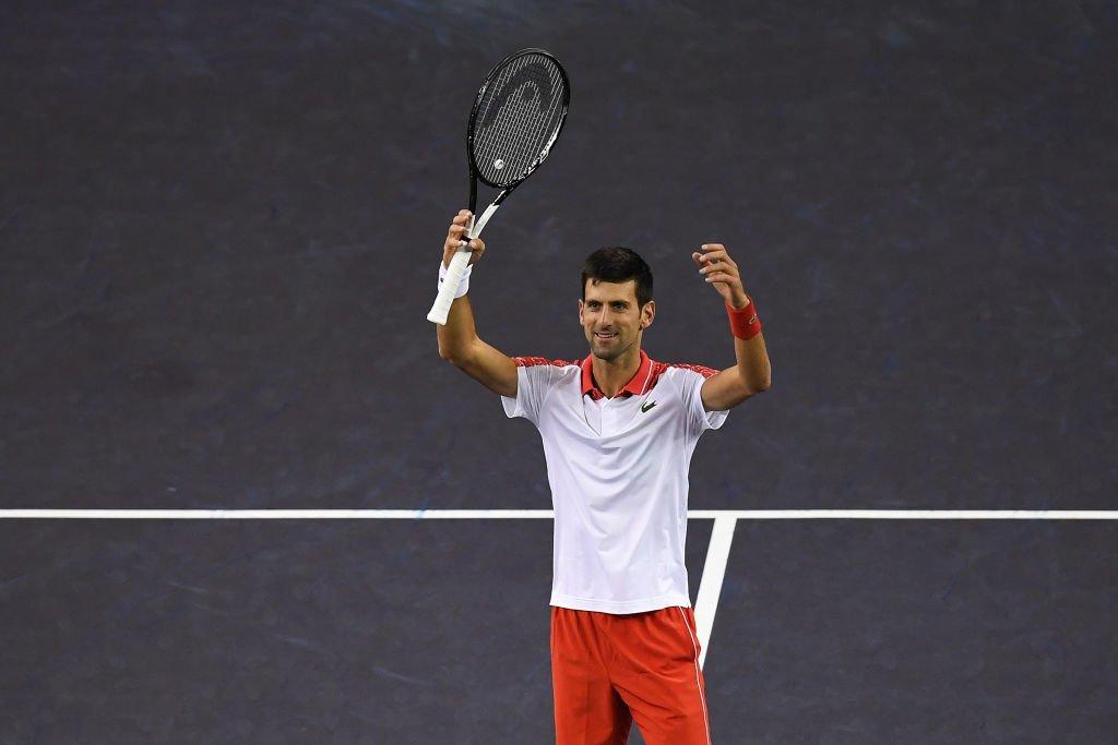Novak Djokovic, clinch, record, Shanghai, Masters, title, beat, Borna Coric, NewsMobile, Mobile News, India