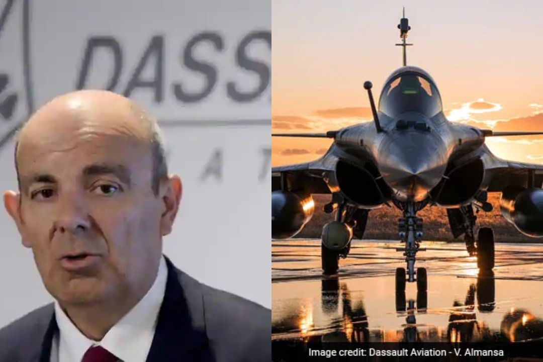 Dassault, CEO, reveal, Reliance, 10%, offset, Rafale Deal, Eric Trappier, Dassault Aviation, Nirmala Sitharaman, Defence Minister, NewsMobile, Mobile News, India, World, France, India