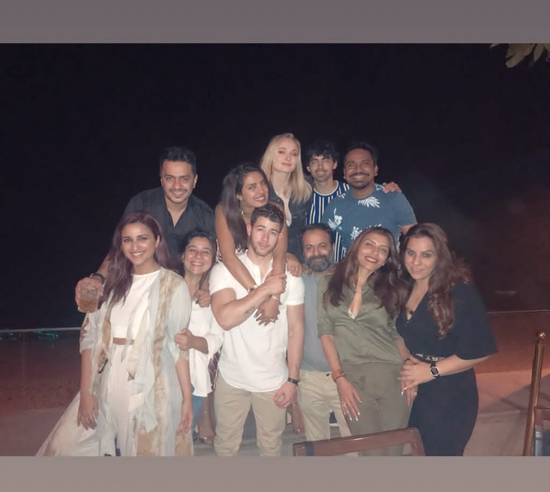 Nick Jonas, Priyanka Chopra, Joe Jonas, Sophie Turner, Party, Parineeti Chopra, Alia Bhat, B'town, Mumbai, News Mobile, News Mobile