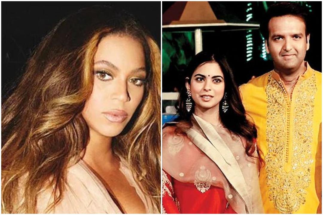 Beyonce, arrive, India, slay, Isha Ambani, star studded, wedding, Entertainment, NewsMobile, Mobile, News, India