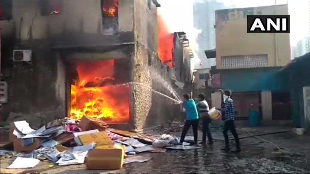 Fire breaks, Damu Nagar, Mumbai, News Mobile, News Mobile India
