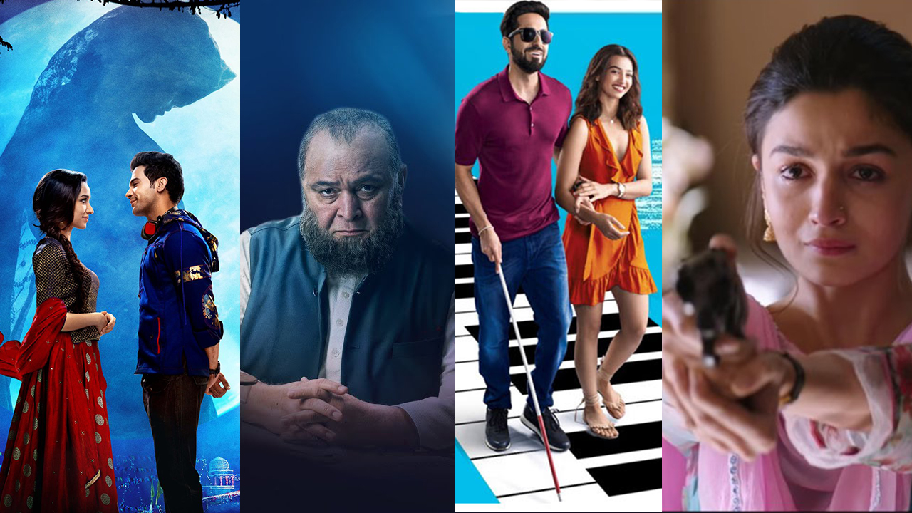 Off-beat Bollywood, Bollywood movies, 2018, movies, small budget films, non-mainstream actors, menstruation, mid-age romance, Andhadhun, Stree, Mulk, Padman, Badhaai Ho, Raazi, Tumbbad, Manto, Manmarziyaan