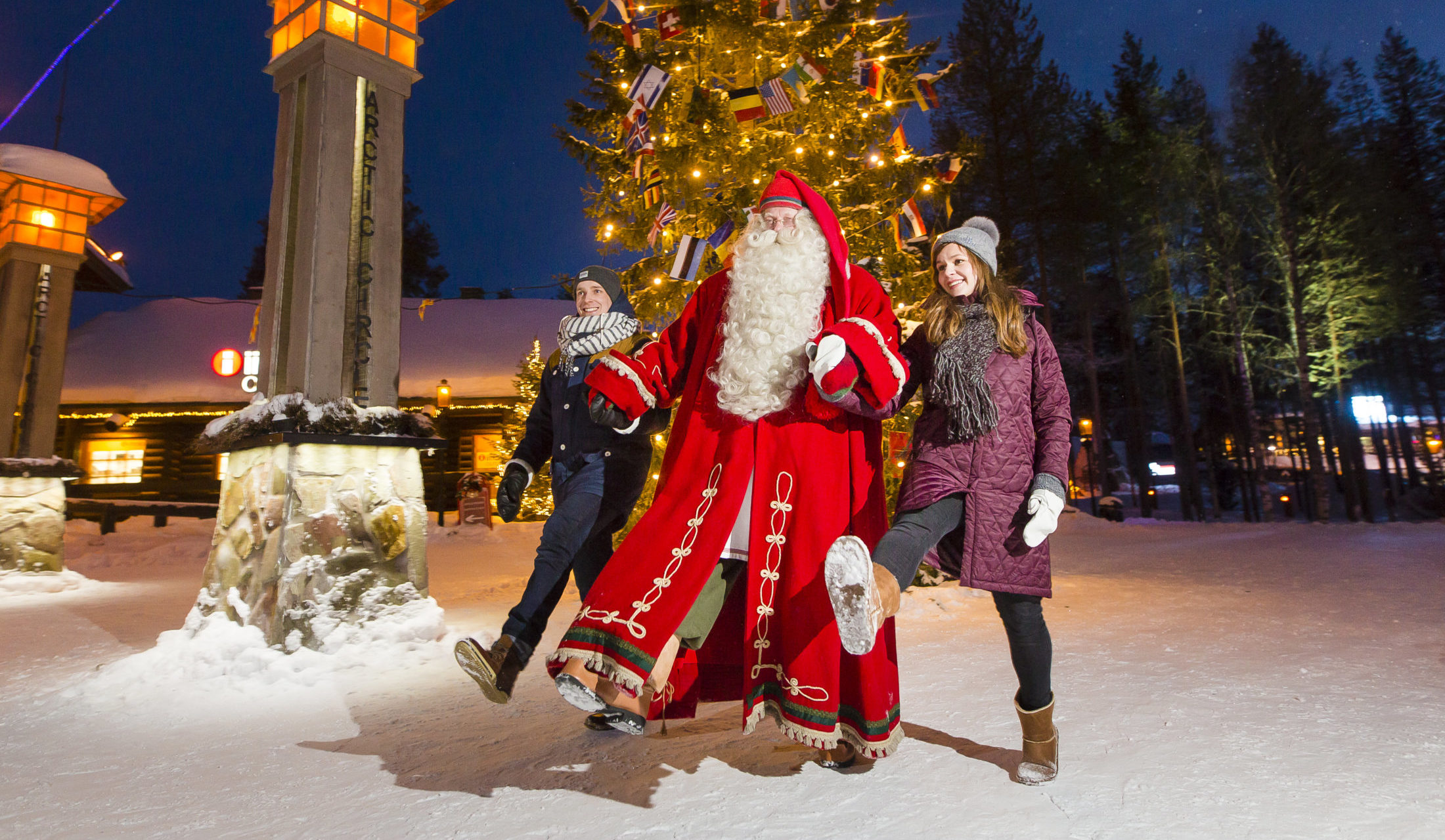 In Santa's village in Norway Christmas never ends