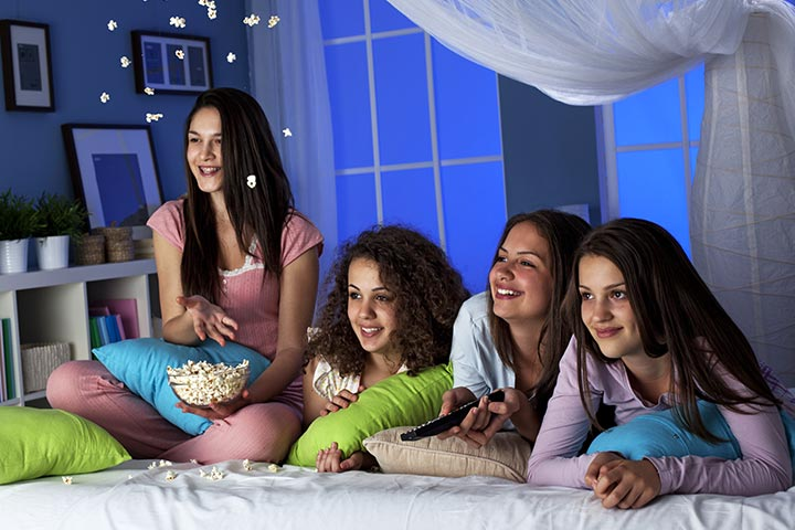 Eight fun things to do at an 'all girls' sleepover
