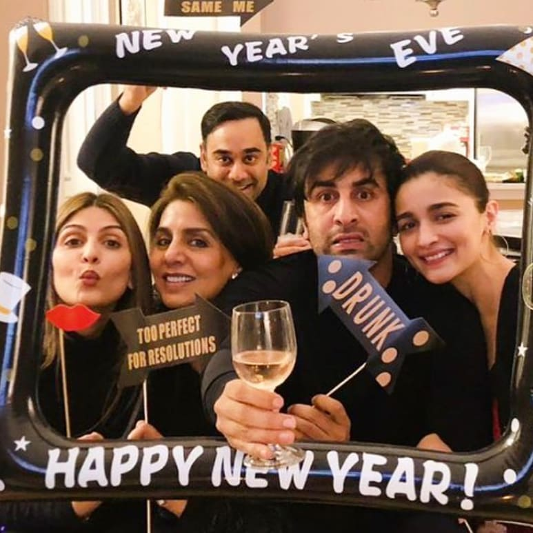 Bollywood, tinsel town, new year, 2019, celebrity, party, celebration, welcome, picture, gallery, newsmobile