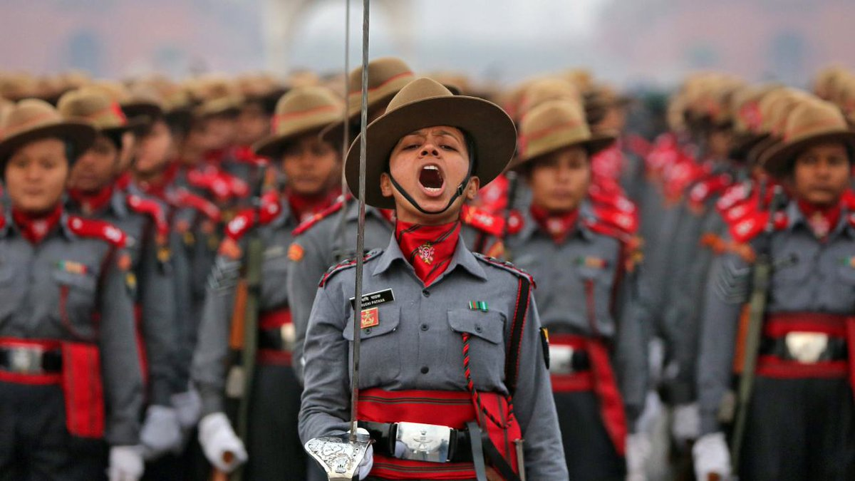 Women, Contingent, Bike, Power, Indian Army, Army, India, republic Day, 70th, Parade, Rajpath, New Delhi, NewsMobile, Mobile, News, R Day