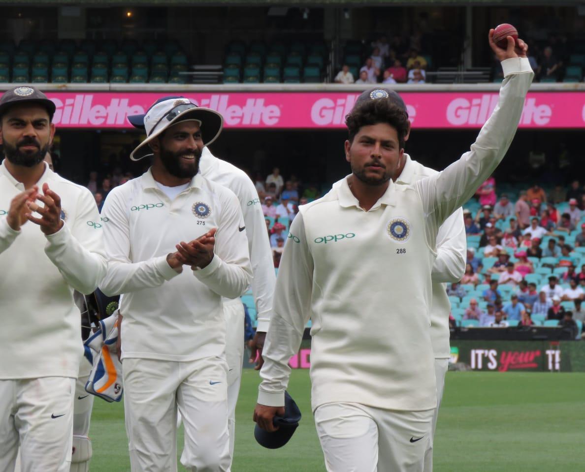 Kuldeep Yadav, Sydney, Test, Sunday, 64-year-old long, five-wicket haul, Oz soil, Australia, 300, follow on ,