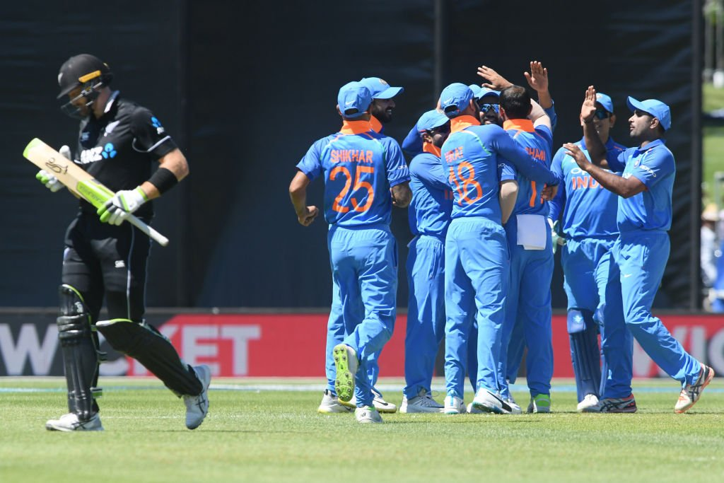 India, New Zealand, Cricket, Sports, Virat Kohli, Mohammad Shami, Shikhar Dhawan, NewsMobile, Mobile, News, Sports