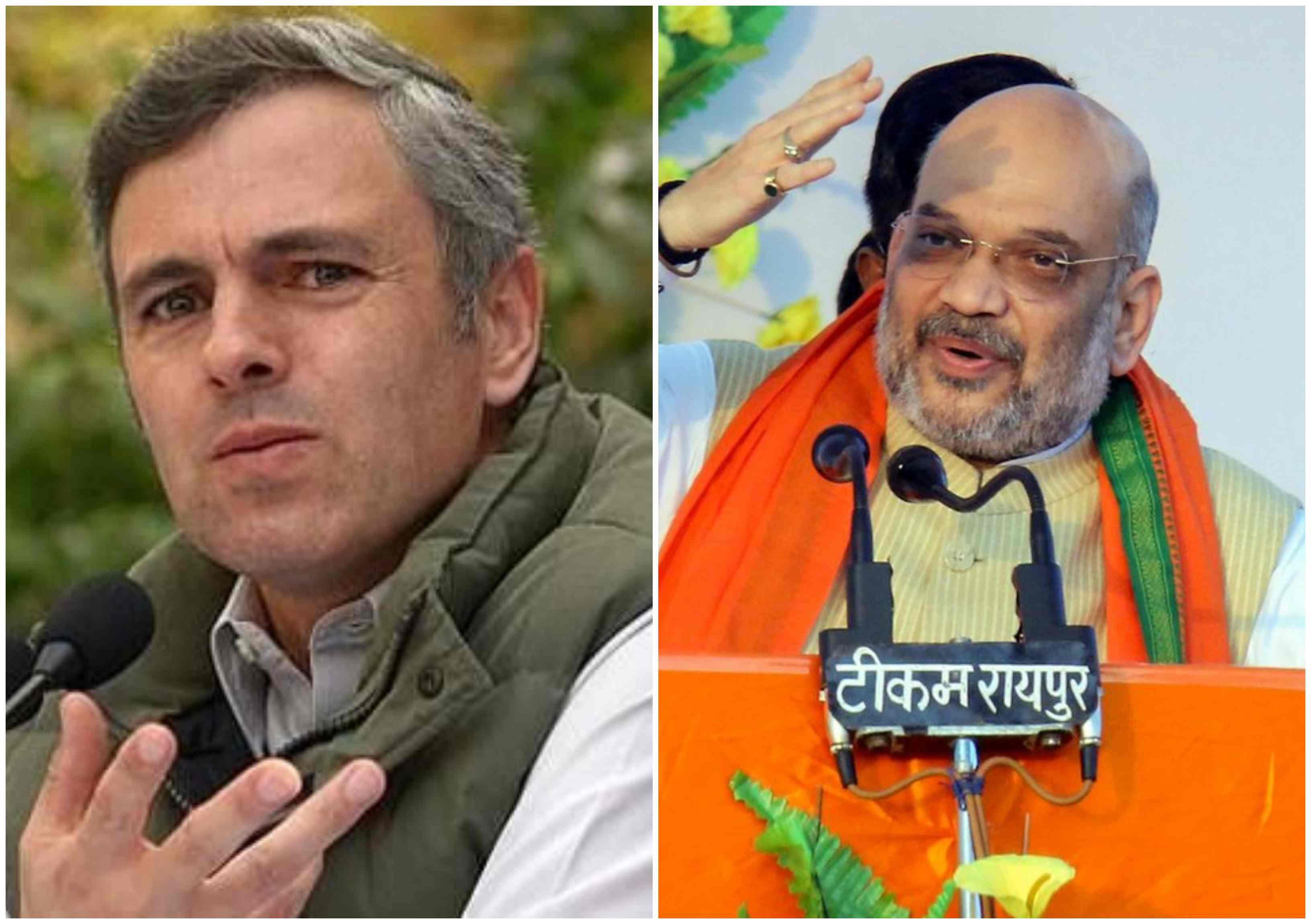 Omar Abdullah, Amit Shah, ODOMOS, OROP, BJP, Congress, national Conference, Lok Sabha, Polls, Rahul Gandhi, Priyanka Gandhi, NewsMobile, Mobile, News, India