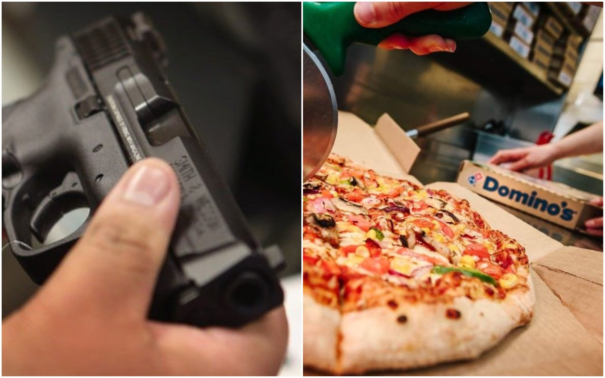 Law, Student, Dominos, Shoot, Delivery, Cold, Pizza, NewsMobile, Mobile, News, India