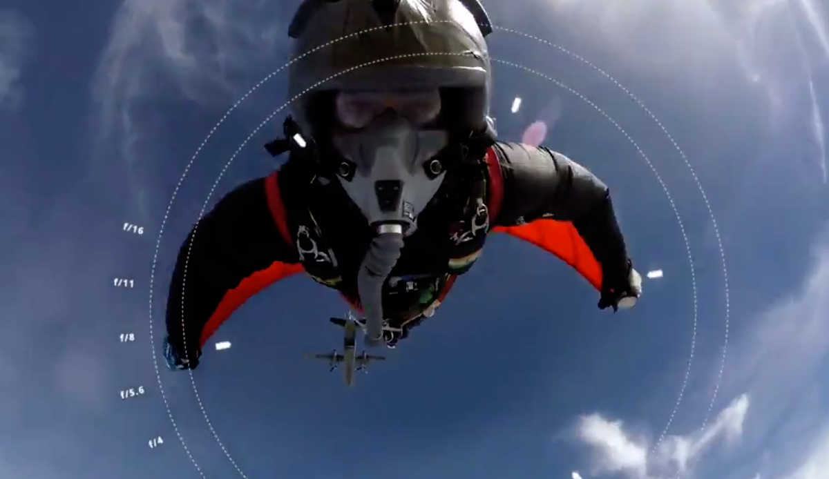 India, Air Force, Indian Air Force, IAF, wing commander, Gajanand Yadava, wingsuit skydiving, jump, NewsMobile, Mobile, News, India