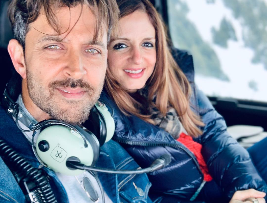 Sussanne sends a warm birthday wish to 'soulmate' Hrithik