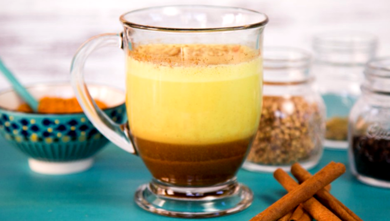 Turmeric Latte and other international dishes that are traditionally Indian
