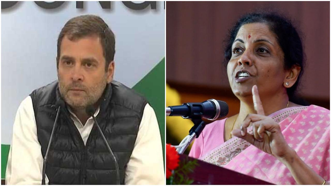 Rahul Gandhi, accuses, Defence Minister, lying, Nirmala Sitharaman, hits back , Hindustan Aeronautics Limited, HAL, orders, Rs.1 lakh crore, resign,