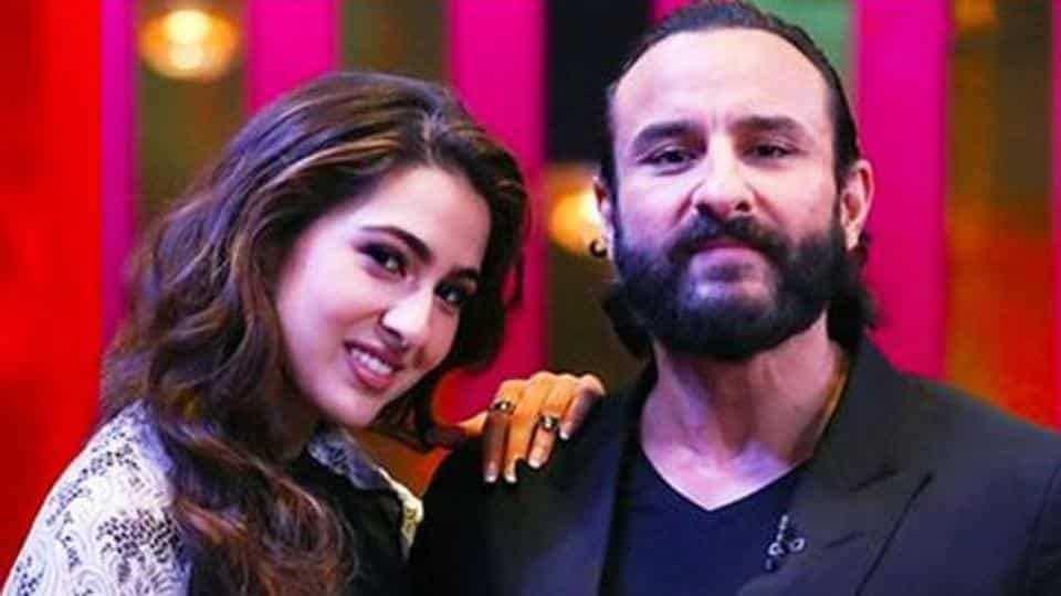 Sara Ali Khan, Saif Ali Khan, Throwback Picture, News Mobile, News Mobile India