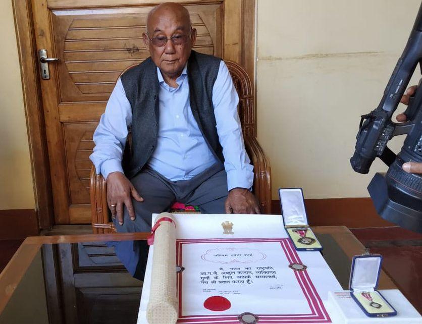 Aribam Syam Sharma, Manipur, Filmmaker, Returns, Padma Shri, Citizenship Bill, News Mobile, News Mobile India