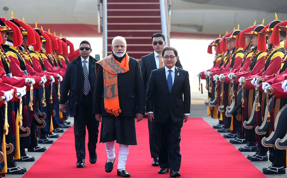 PM Narendra Modi, Seoul Peace Prize, South Korea, South Korean president Moon Jae-in, News Mobile, News Mobile India