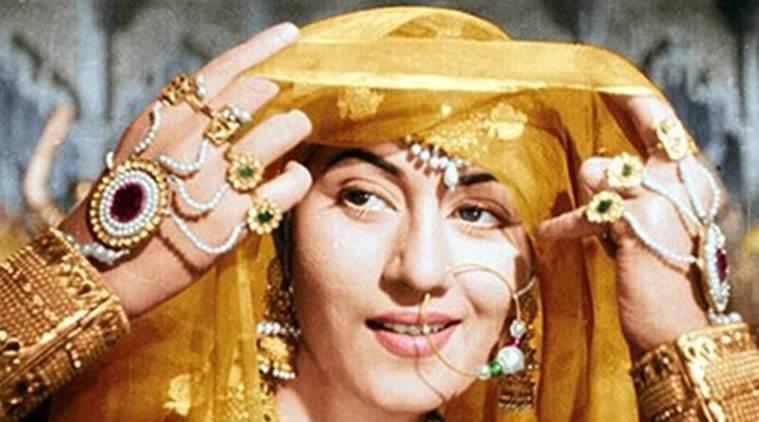Madhubala as 'Anarkali' in Mughal-e-Azam