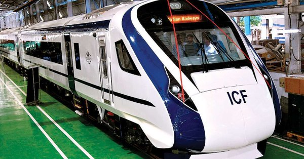 Engineless train 'Vande Bharat' to be flagged off on February 15