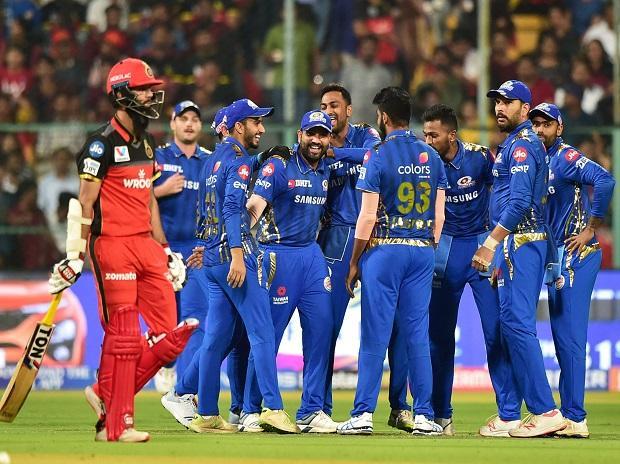 Mumbai Indians, Beat, Royal Challengers Bangalore, IPL, 2019, News Mobile, News Mobile India