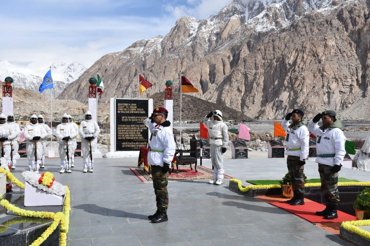 Siachen Warriors Brigade, Fire And Fury Corps, 35th Siachen Day, News Mobile, News Mobile India